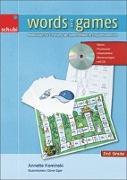 Cover-Bild zu Words and Games 2nd Grade von Kaminski, Annette