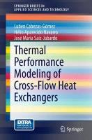 Cover-Bild zu Thermal Performance Modeling of Cross-Flow Heat Exchangers von Cabezas-Gómez, Luben