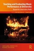 Cover-Bild zu Teaching and Evaluating Music Performance at University (eBook) von Encarnacao, John (Hrsg.)