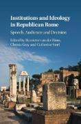 Cover-Bild zu Institutions and Ideology in Republican Rome (eBook) von Blom, Henriette van der (Hrsg.)