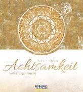 Cover-Bild zu Geburtstagskalender Achtsamkeit von Korsch, Verlag (Hrsg.)