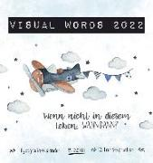 Cover-Bild zu Visual Words Aquarell 2022 von Korsch, Verlag (Hrsg.)