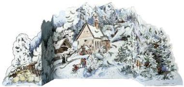 """Cover-Bild zu Adventskalender """"Winterwald"""" von Korsch Verlag (Hrsg.)"""