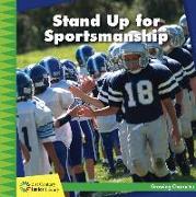 Cover-Bild zu Stand Up for Sportsmanship von Murphy, Frank