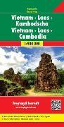Cover-Bild zu Vietnam - Laos - Kambodscha, Autokarte 1:900.000. 1:900'000