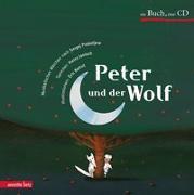 Cover-Bild zu Peter und der Wolf von Battut, Éric (Illustr.)