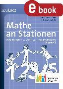 Cover-Bild zu Mathe an Stationen 1 Inklusion (eBook) von Jakobi, Anna Lena
