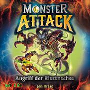 Cover-Bild zu Monster Attack (1) (Audio Download) von Drake, Jon