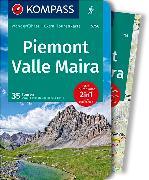 Cover-Bild zu KOMPASS Wanderführer Piemont, Valle Maira. 1:35'000 von Stimpfl, Oswald