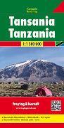 Cover-Bild zu Freytag-Berndt und Artaria KG (Hrsg.): Tansania, Autokarte 1:1,3 Mio. 1:1'300'000