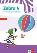Cover-Bild zu Zebra 4. Arbeitsheft Fördern Klasse 4