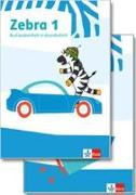 Cover-Bild zu Zebra 1. Paket: Buchstabenheft in Grundschrift, Arbeitsheft Lesen/Schreiben
