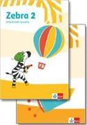 Cover-Bild zu Zebra 2. Paket: Arbeitsheft Lesen/Schreiben/Arbeitsheft Sprache