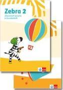 Cover-Bild zu Zebra 2. Paket: Arbeitsheft in Grundschrift, Arbeitsheft Lesen/Schreiben Klasse 2
