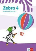 Cover-Bild zu Zebra 4. Arbeitsheft Sprache
