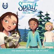 Cover-Bild zu Folge 23: Der Dressur-Wettbewerb / Lucky, Polly und der Wolf (Das Original-Hörspiel zur TV-Serie) (Audio Download) von Strunck, Angela