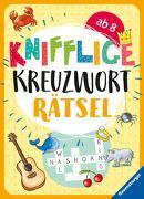Cover-Bild zu Knifflige Kreuzworträtsel von Mörchen, Marie-Luise