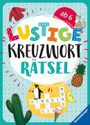 Cover-Bild zu Lustige Kreuzworträtsel von Mörchen, Marie-Luise