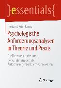 Cover-Bild zu Psychologische Anforderungsanalysen in Theorie und Praxis (eBook) von Wienkamp, Heribert