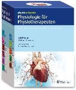 Cover-Bild zu Faller, Adolf (Hrsg.): physioLernkarten - Physiologie für Physiotherapeuten