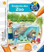 Cover-Bild zu tiptoi® Entdecke den Zoo von Friese, Inka