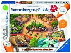 Cover-Bild zu tiptoi® Puzzle für kleine Entdecker: Zoo