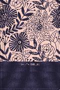 Cover-Bild zu RVR60 Santa Biblia, Letra Grande, Tamaño Compacto, Tapa Dura/Tela, Azul Floral, Edición Letra Roja con Índice