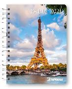 Cover-Bild zu Paris 2021 - Diary - Buchkalender - Taschenkalender - 16,5x21,6