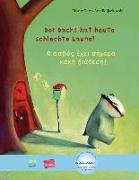 Cover-Bild zu Petz, Moritz: Der Dachs hat heute schlechte Laune! Kinderbuch Deutsch-Griechisch
