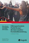 Cover-Bild zu Sachse, Rainer: Klärungsorientierte Psychotherapie der histrionischen Persönlichkeitsstörung