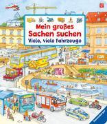 Cover-Bild zu Mein großes Sachen suchen: Viele, viele Fahrzeuge von Gernhäuser, Susanne