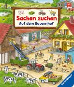 Cover-Bild zu Sachen suchen: Auf dem Bauernhof - Wimmelbuch ab 2 Jahren von Gernhäuser, Susanne
