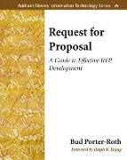 Cover-Bild zu Request for Proposal von Porter-Roth, Bud