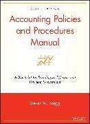 Cover-Bild zu Accounting Policies and Procedures Manual (eBook) von Bragg, Steven M.