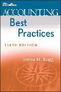Cover-Bild zu Accounting Best Practices (eBook) von Bragg, Steven M.