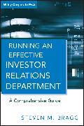 Cover-Bild zu Running an Effective Investor Relations Department (eBook) von Bragg, Steven M.
