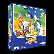 Sonic The Hedgehog: Too Slow! Premium Puzzle (1000-pc)