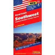 Southwest - Southern Rockies, Canyon Country. 1:1'000'000