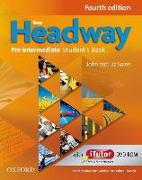 New Headway. Fourth Edition. Pre-Intermediate. Student's Book mit Vokabelliste Englisch-Deutsch