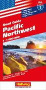 Pacific Northwest Strassenkarte 1:1 Mio. Road Guide Nr. 1. 1:1'000'000