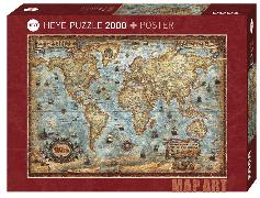 The World Puzzle 2000 Teile