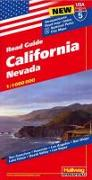 California, Nevada Strassenkarte 1:1 Mio., Road Guide Nr. 5. 1:1'000'000